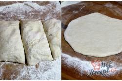 Příprava receptu Domácí pita chléb, krok 1