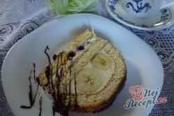 Příprava receptu Slavnostní roláda s ovocem, krok 9