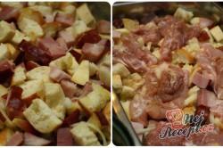 Příprava receptu Rozstřelené (rozlítané) kuře s nádivkou, krok 2