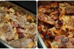 Příprava receptu Rozstřelené (rozlítané) kuře s nádivkou, krok 3