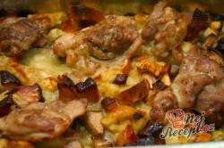 Příprava receptu Rozstřelené (rozlítané) kuře s nádivkou, krok 4