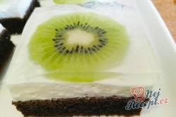 Příprava receptu Kiwi řezy se želatinou, krok 1