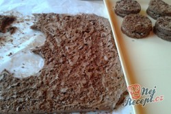 Příprava receptu Sacher mini dortíky - FOTOPOSTUP, krok 8