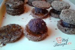 Příprava receptu Sacher mini dortíky - FOTOPOSTUP, krok 10