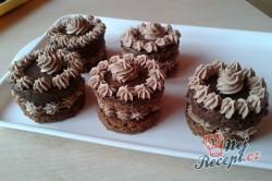 Příprava receptu Sacher mini dortíky - FOTOPOSTUP, krok 12