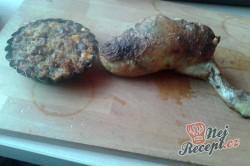 Příprava receptu Kuřecí stehno plněné přerostlou slaninou - FOTOPOSTUP, krok 5
