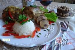 Příprava receptu Kuřecí stehno plněné přerostlou slaninou - FOTOPOSTUP, krok 7