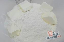 Příprava receptu Křehké sušenky s kondenzovaným mlékem, krok 1