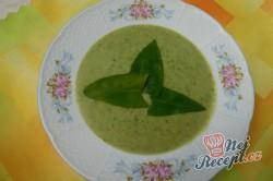 Příprava receptu Krémová polévka z medvědího česneku, krok 10