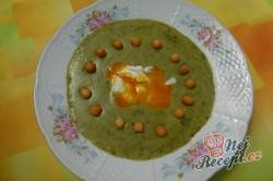 Příprava receptu Krémová polévka z medvědího česneku, krok 13