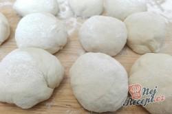 Příprava receptu Domácí sádlové rohlíčky, krok 1