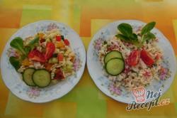 Příprava receptu Těstovinový salát s medvědím česnekem, krok 1