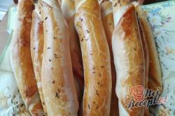 Příprava receptu Domácí křehoučké rohlíky posypané kmínem, krok 5