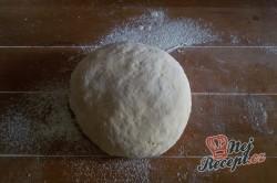 Příprava receptu Pita chlebíček se sýrem a jogurtem, krok 6