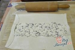Příprava receptu Jednoduchý a extra rychlý tvarohový závin, krok 2