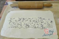 Příprava receptu Jednoduchý a extra rychlý tvarohový závin, krok 1