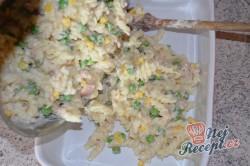 Příprava receptu Zapečené těstoviny s tuňákem a sýrem, krok 5