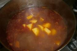 Příprava receptu Gulášová polévka, krok 6