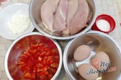 Příprava receptu Kuřecí roláda s omeletou, krok 1