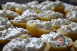 Příprava receptu Brambory s česnekem, smetanou a sýrem, krok 5