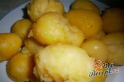 Příprava receptu Jahodové bramborové knedlíky, krok 2