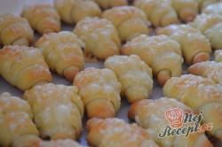 Příprava receptu Vynikající sýrové croissanty, krok 10