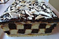 Příprava receptu Šachové řezy s čokoládou - fotopostup, krok 12