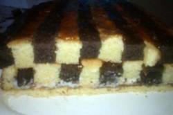 Příprava receptu Šachové řezy s čokoládou - fotopostup, krok 11