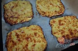 Příprava receptu Fantastický v troubě zapečený křupavý sýr bez smažení a klasického trojobalu, krok 3