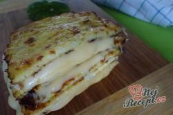 Příprava receptu Fantastický v troubě zapečený křupavý sýr bez smažení a klasického trojobalu, krok 4