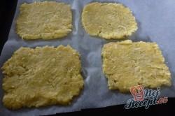 Příprava receptu Fantastický v troubě zapečený křupavý sýr bez smažení a klasického trojobalu, krok 2