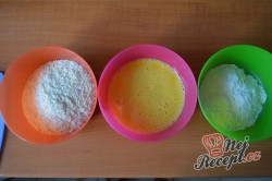 Příprava receptu Výborný sýr v trojobale pečený v troubě - chutná jako smažený!, krok 2