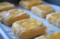 Příprava receptu Výborný sýr v trojobale pečený v troubě - chutná jako smažený!, krok 5