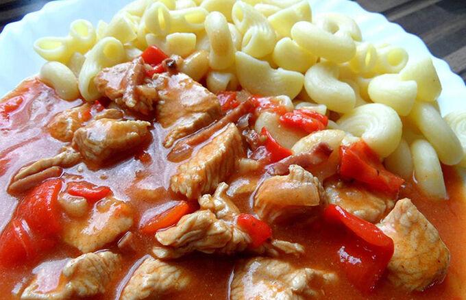 Recept Krůtí guláš