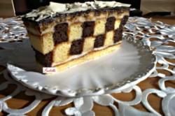 Příprava receptu Šachové řezy s čokoládou - fotopostup, krok 13