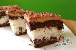 Příprava receptu Kokosové řezy s karamelovou polevou, krok 1