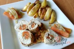 Příprava receptu Královská kuřecí roláda, krok 2