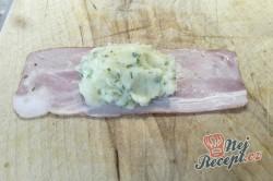 Příprava receptu Bramborová kaše obalovaná ve slanině, krok 1