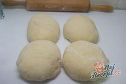 Příprava receptu Nutelová hvězda z kynutého těsta, krok 4