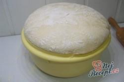 Příprava receptu Nutelová hvězda z kynutého těsta, krok 2
