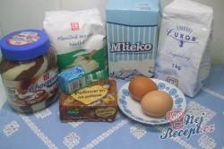 Příprava receptu Nutelová hvězda z kynutého těsta, krok 1