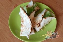 Příprava receptu Vegetariánské tortilly, krok 1