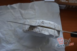 Příprava receptu Karbanátek plněný hermelínem, krok 3