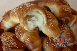 Příprava receptu Tvarohové croissanty pečené s máslem, krok 4