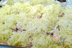Příprava receptu Kuřecí prsa zapečená s ananasem a sýrem, krok 4