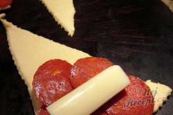 Příprava receptu Salámovo-sýrová chuťovka s česnekovou příchutí, krok 1