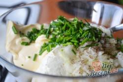 Příprava receptu Pomazánka z uzené makrely s tvarohem, krok 3