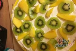 Příprava receptu Ovocný dort s tvarohem, krok 3