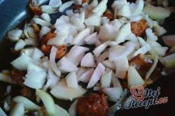 Příprava receptu Opilé krůtí játra s bramborovými pusinkami, krok 5