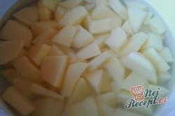 Příprava receptu Opilé krůtí játra s bramborovými pusinkami, krok 10
